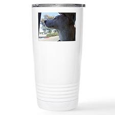 Cute Wolf hybrid Travel Mug