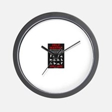 HELP WANTED... Apply Wall Clock