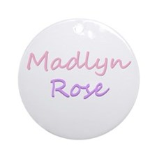 Madlyn Rose Ornament (Round)