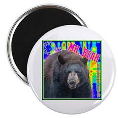 Mr. Bear Pop Art Magnet