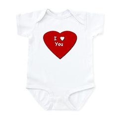 I Love You - Infant Creeper