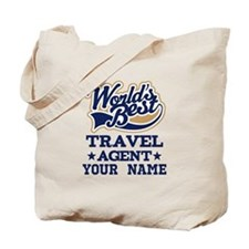 Travel Agent Custom Gift Tote Bag