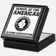 school of the americas Keepsake Box