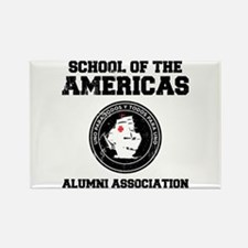 school of the americas Rectangle Magnet