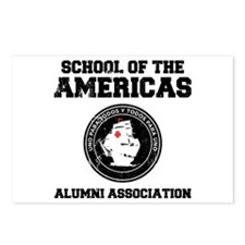 school of the americas Postcards (Package of 8)