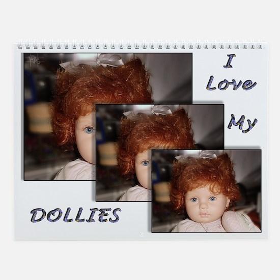 Collectable Doll Calendar