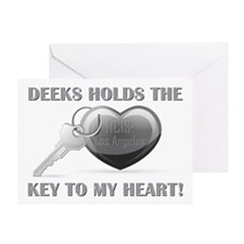 KEY TO MY HEART Greeting Card