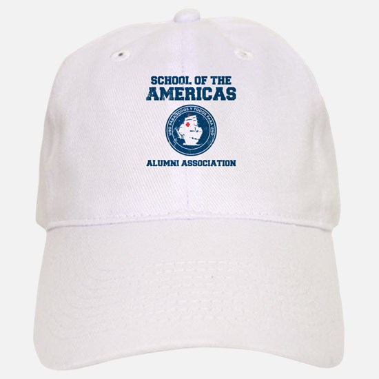 school of the americas Baseball Baseball Cap