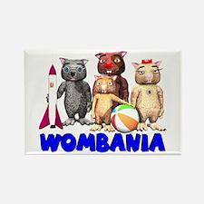 Wombie Cast Rectangle Magnet