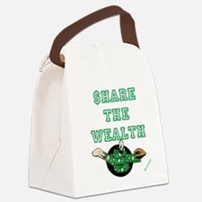 $HARE THE WEALTH Canvas Lunch Bag