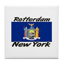 Rotterdam New York Tile Coaster