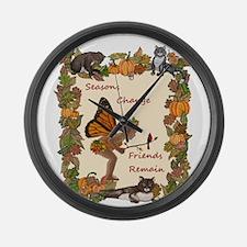 Seasons Change Large Wall Clock