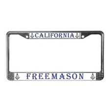 California Freemasons License Plate Frame