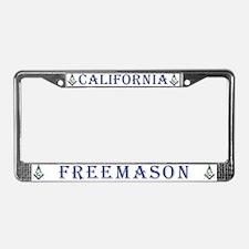 California Freemasons License Plate Frame