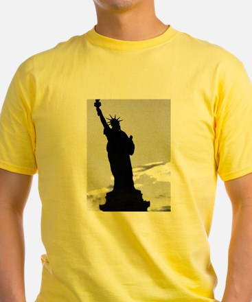 Statue of Liberty Shadow Owen's Fave T-Shirt