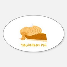 Funny Donald Trump Trumpkin Pie Decal