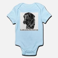 Black Lab Breed Infant Creeper