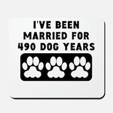 70th Anniversary Dog Years Mousepad