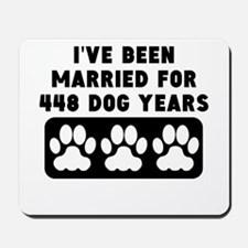 64th Anniversary Dog Years Mousepad