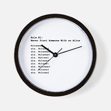 Funny Think Wall Clock