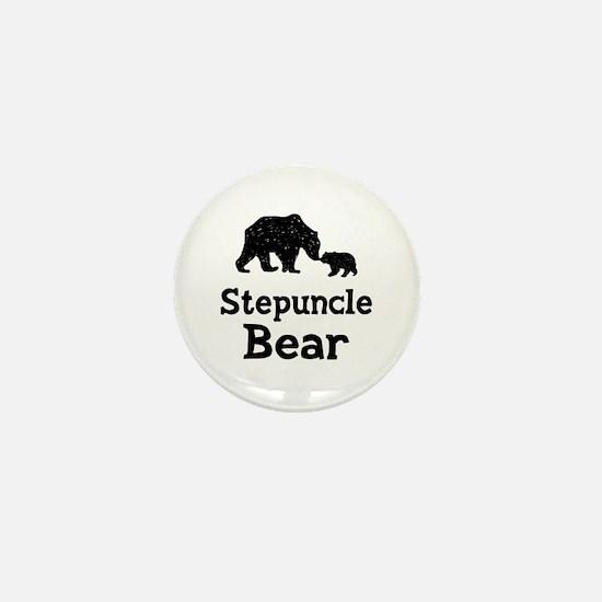 Stepuncle Bear Mini Button