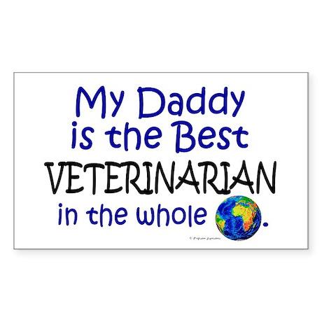 Best Veterinarian In The World (Daddy) Sticker (Re