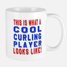 Curling Player Looks Like Mug