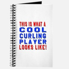 Curling Player Looks Like Journal