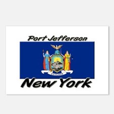 Port Jefferson New York Postcards (Package of 8)