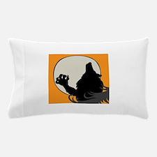 Howling Werewolf Pillow Case