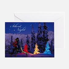 Silent Night - Christmas Scene (Male & Female Runn
