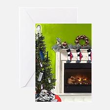 Runner's Christmas Tree Greeting Cards (Pk of 10)