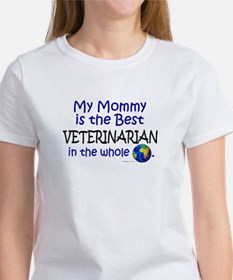 Best Veterinarian In The World (Mommy) Tee