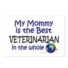 Best Veterinarian In The World (Mommy) Postcards (
