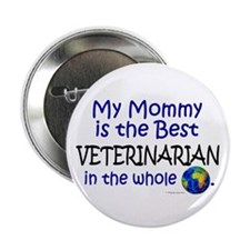 Best Veterinarian In The World (Mommy) Button