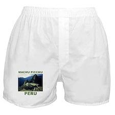 MACHU PICCHU, PERU Boxer Shorts