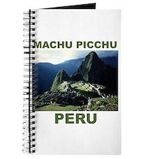 MACHU PICCHU, PERU Journal