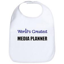 Worlds Greatest MEDIA PLANNER Bib