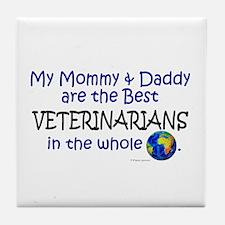Best Veterinarians In The World Tile Coaster