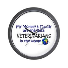 Best Veterinarians In The World Wall Clock
