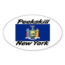 Peekskill New York Oval Decal