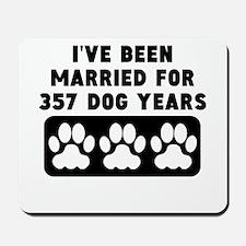 51st Anniversary Dog Years Mousepad