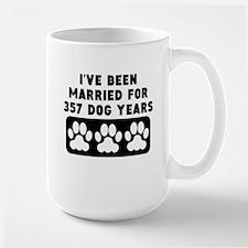 51st Anniversary Dog Years Mugs