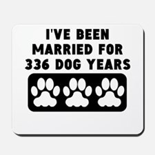 48th Anniversary Dog Years Mousepad