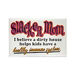 Slacker Mom Immune System Rectangle Magnet