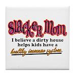 Slacker Mom Immune System Tile Coaster