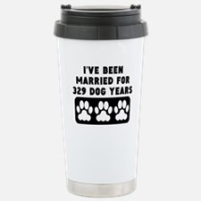 47th Anniversary Dog Years Travel Mug
