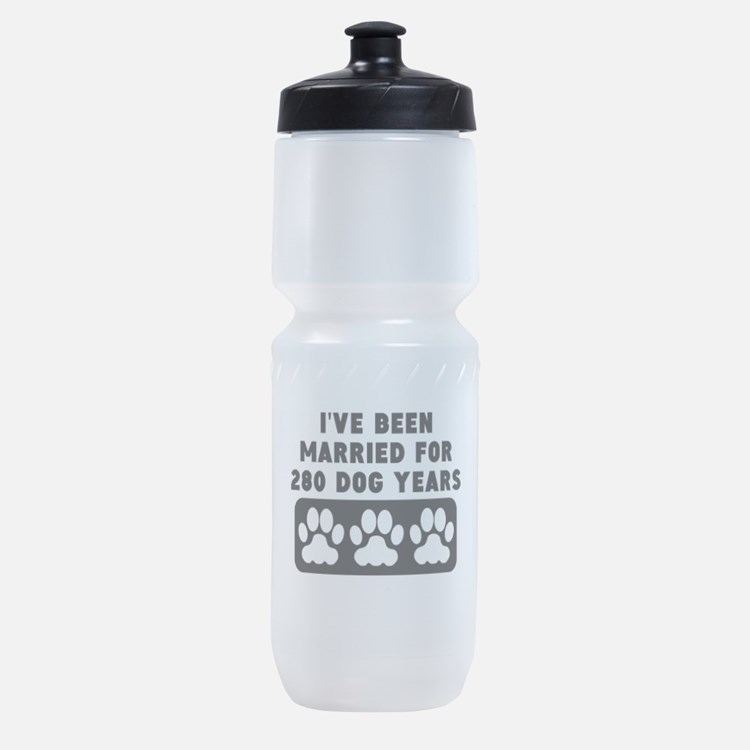 40th Anniversary Dog Years Sports Bottle