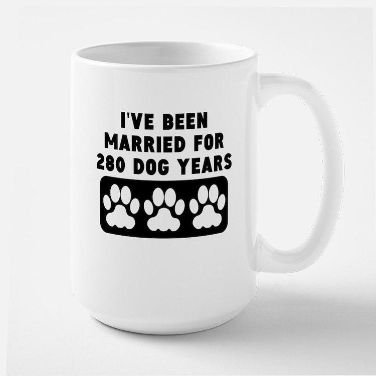 40th Anniversary Dog Years Mugs