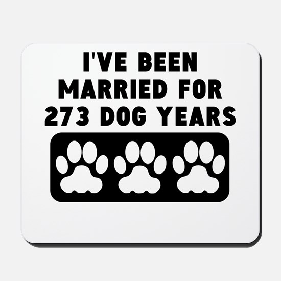 39th Anniversary Dog Years Mousepad